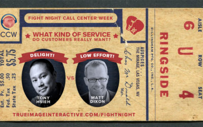 Customer Service Throwdown! Tony Hsieh vs. Matt Dixon at Call Center Week 2016