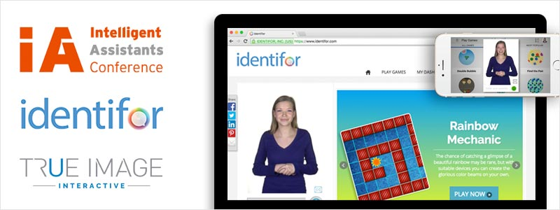 Identifor Learning App for Students with Autism Featured at Intelligent Assistants Conference